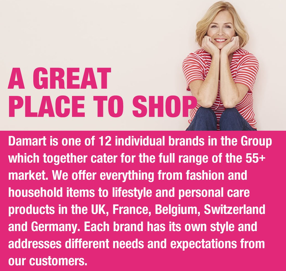 Damart a great place to shop