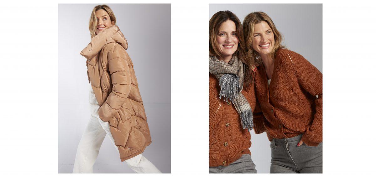 women in winter clothing